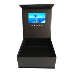7 duim - het hoge VideoVakje van de Kwaliteit met de VideoSpeler van de Brochure Hardcover voor Reclame
