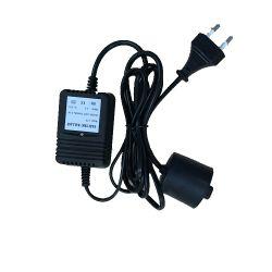 12W lâmpadas germicida UV no tratamento de água de lastro eletrônico com Alarme de Luz
