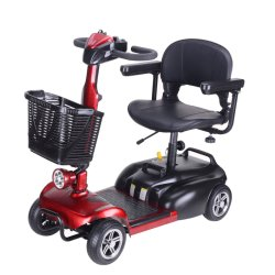 Quatro Rodas de carga 120kg Elder Electric Scooter de mobilidade