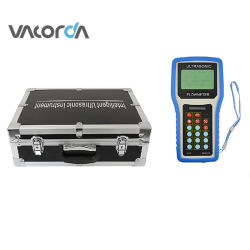 De Mano de RS485/abrazadera de medidores de flujo ultrasónico de Agua, Gas Licuado