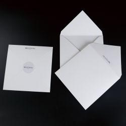 Print Brochure Flyer Verpakkingen Cadeaubon Mailer dank u Card Folder Envelop voor mat wit papier