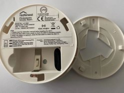 Só o funcionamento prático do Alarme de fumaça Photo-Electric Gadget de alerta de incêndio