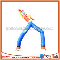 Custom Print 3м развевается правой надувной воздушный танцовщица надувных шаров