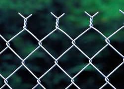 2.5Mm-3.0mm galvanisé à chaud clôture à mailles losangées maille losange clôture avec bord de torsion de fusée