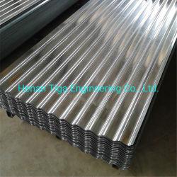 クロム酸塩 - パッシッド冷間圧延コルゲート亜鉛めっきスチール屋根板 / タイル