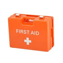 صندوق مجموعة أدوات إسعافات أولية بلاستيك صغير محمول فارغ للمنزل