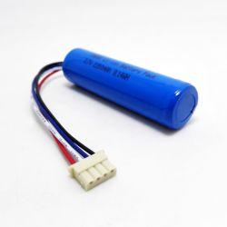 3,6V 18650 3.7V 2200mAh recarregável Bateria de íon de lítio com PCM e o conector