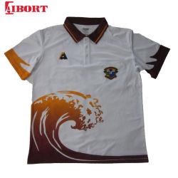 Logotipo da Moda Aibort Sublimação de vestuário lawn bowls camisas polo (polo 125)