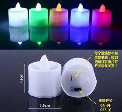 Tealight LED flammenlose gefälschte Kerze des Kerze-Licht-LED