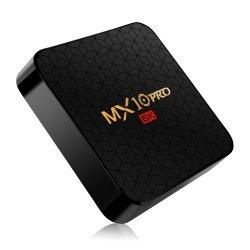 Intelligenter KastenAndroid 9.0 Fernsehapparat-Mx10 Allwinner H6 4G 64G gesetzter Spitzenprokasten des Fernsehapparat-Empfänger-6K WiFi Media Player