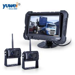 Migliori sistemi di obbligazione dell'automobile con 2 il video Shockproof senza fili di retrovisione della visualizzazione dell'affissione a cristalli liquidi dei canali HD720p