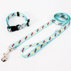 Custom Dog Leash, Poliéster Pet Leash, Coleira, Coleira com impressão personalizada, Walking Leash, Segurança leash para cães, Promocional Dog leash