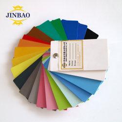 Malasia Jinbao anti UV 4x8m de espesor de aislamiento de la Junta Foamex rígido de 15mm hoja blanca de peso de la junta de espuma de PVC