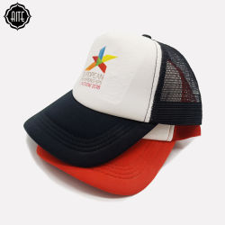 La maglia su ordinazione all'ingrosso di marchio di stampa ricopre il cappello di sport di sublimazione