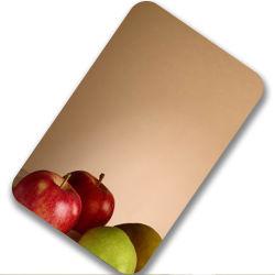 201 304 430 Espejo de la placa de acero inoxidable es magnética de acero inoxidable