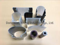Difusão e a tampa do LED transparente para utilização exterior e interior
