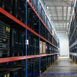 Sistema rack pallet in acciaio per magazzino per impieghi pesanti personalizzato