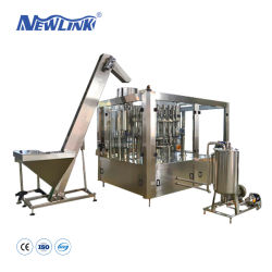 Automatisch Plastiek die het Vullen van het Water van het Aroma van de Fles 350ml Bottelende Machines vormen