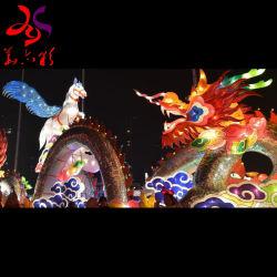 Festival en plein air Décoration imperméable Feux personnalisés lanterne commerciale
