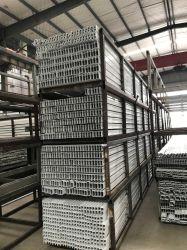 Вертикальный порошок покрытие производства Line-Aluminum экструзии профиля чистовой обработки поверхности