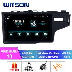 AudioVideo van 10 Auto van Witson de Androïde voor Grote Scherm van de Flits van de RAM Rhd van Honda 2014 het Geschikte 4GB 64GB in de Speler van de Auto DVD