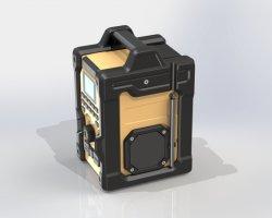 新しく導入された防水作業現場用ラジオ FM/DAB+ ラジオ