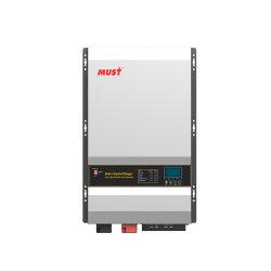 يجب أن يكون محول الطاقة الشمسية منخفض التردد 12000 واط تيار مستمر بقوة 48 فولت إلى سعر تيار متردد 230 فولت