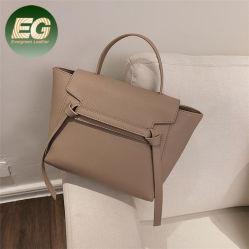 PU sac à main en cuir de luxe femmes Mallette Brand designer sac à main avec de gros de la patte longue SH1375