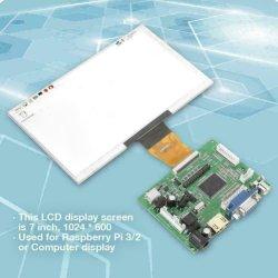شاشة TFT LCD/LCM LVDS الواجهة 40 سنًا مع شاشة LCD بحجم 7.5 بوصات لوحة برامج تشغيل HDMI