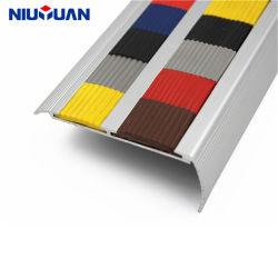 OEM van Yuan van Niu Nosing van de Trede van Bullnose niet van de Misstap van het Aluminium van de Fabrikant