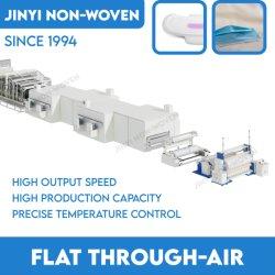 Flat Through-Air Bonding-productielijn voor polyester van filtervezels PP Viscose ES-non-woven non-woven non-woven machine