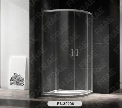 Melhores Vendas Quadrante Simples - Compartimento Duplo Chuveiro Deslizante Série Europa