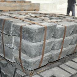 Fournisseur pour les lingots d'antimoine 99.65 %, 99,85 %, 99,90%/Prix de vente inférieur