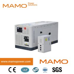 中国工場出荷開始 / 無騒音いすゞエンジン 16kW 20kVA PRIME 18kW 22kVA 低価格の予備電源電動ディーゼル発電装置