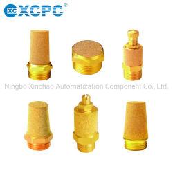 공압 플라스틱 배기 밸브 소음기