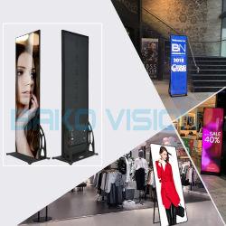 EU EMC의 USB Control Indoor LED 포스터 디스플레이 화면