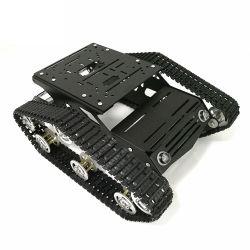 El Robot de metal coches chasis Tanque de depósito de seguimiento Modelo S100 con sólida estructura del bastidor de aleación de aluminio