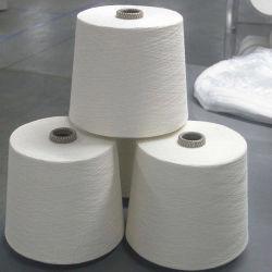 Fabricante 40/2 100% poliéster bonderizado Yarn-Dyed, Multi-Color