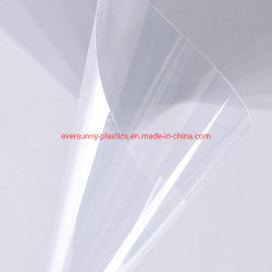 Les deux côtés anti 200micron, 250 micron, 500micron, 1000micron APET Pet pour faire face Shield de feuille