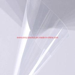 Fabrik Wholesales Preis beide Anti-Nebeligen 200micron, 250micron, 500micron klar/transparente Blatt-Lieferanten des Virus-Schutz-APET des Haustier-PETG für die Herstellung des Gesichts-Schildes