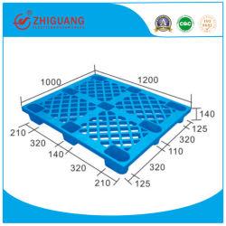 EU-Standards 1200*1000*140mm HDPE Plastikladeplatte neun des 4-Way Sigel-Seiten-Plastikfuß tellersegment-(ZG-1210C)