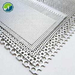 스테인리스 스틸 알루미늄 갈바니화 가공 금속 판금 필터 메시 사진 펀칭 메시 천공 시트 에칭