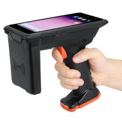 M6 de mão o Melhor Preço com 2D Bluetooth Scanner de código de barras Android Leitor de RFID pistola para UHF Leitor PDA
