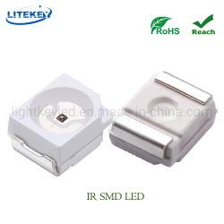 LED infrarrojo de 760nm 770M 780nm 3528-120 grados con RoHS de Fabricante experto