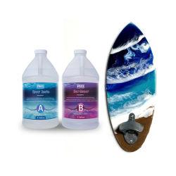 UV-bestendig Crystal Clear Epoxy-hars voor surfboard / koolstof Vezelcoating