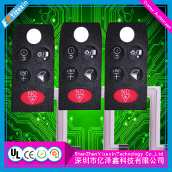 EL-Hintergrundbeleuchtung-Membranen-Tastaturblock-Schalter
