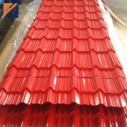 المورد الذهبي صناعة الصين المصنع السعر الورق المسقوف الصلب المموج للسطح