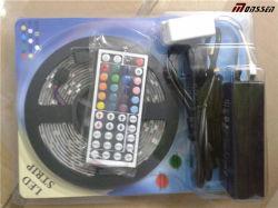 محول وحدة تحكم وشريب LED مرن RGB 5م كامل الضبط مجموعة شريط LED