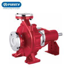 محرك مجموعة المياه الصناعية الهيدروليكية عالي الضغط مضخة مياه بالطرد المركزي
