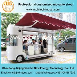 Las cuatro ruedas del remolque móvil eléctrico/Exposición Comercial para la venta de camiones